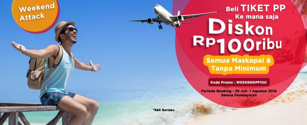 Diskon Tiket Pesawat Rp 100 000 Reservasi Com Travelmore