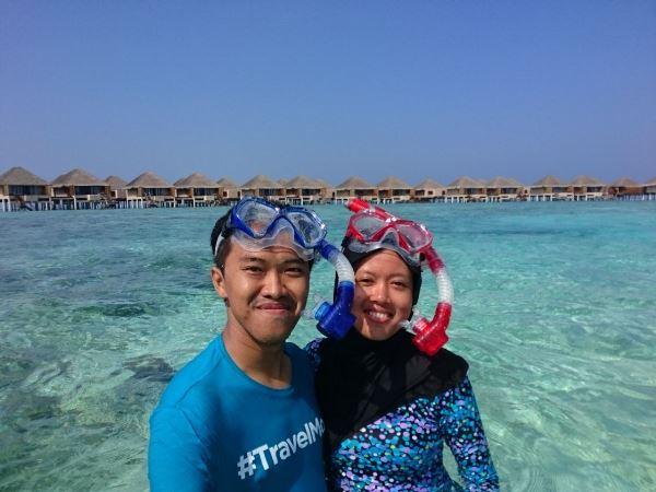 Bawa perlengkapan snorkeling sendiri
